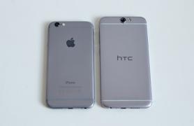 HTC A9 và iPhone 6 chỉ khác nhau ở vị trí camera