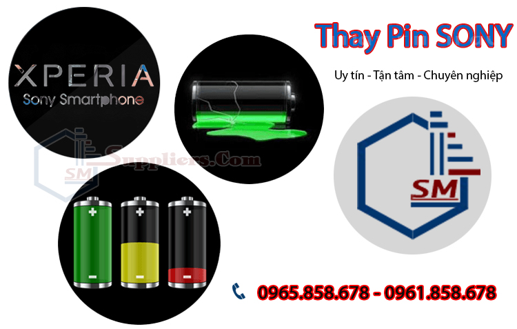 Thay pin Sony Z, Z1, Z2, Z3, Z4, Z1 Mini Z Ultra XL39, M4, Z1S