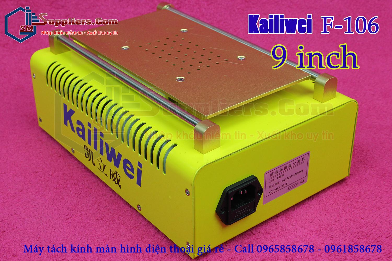 Máy tách kính thủ công 9inch Kailiwei F-106
