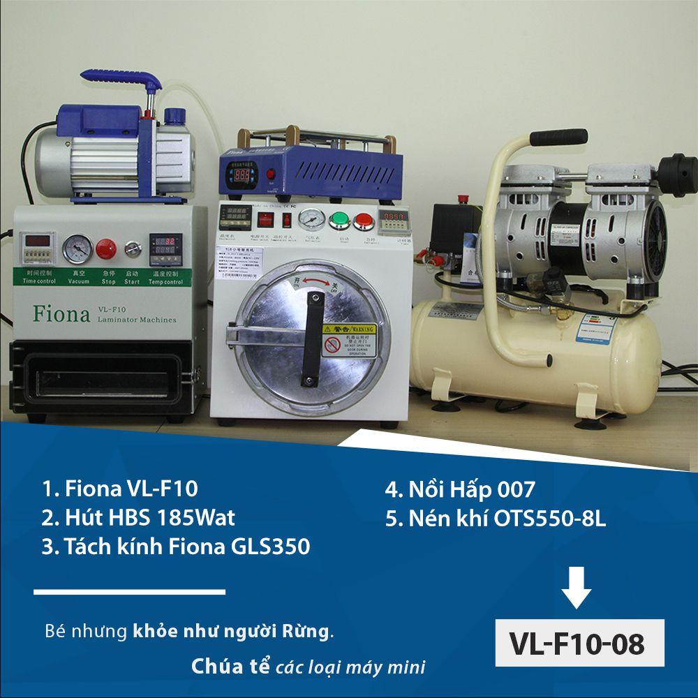 Máy ép kình cỡ nhỏ thương hiệu Fiona Model VL-F10