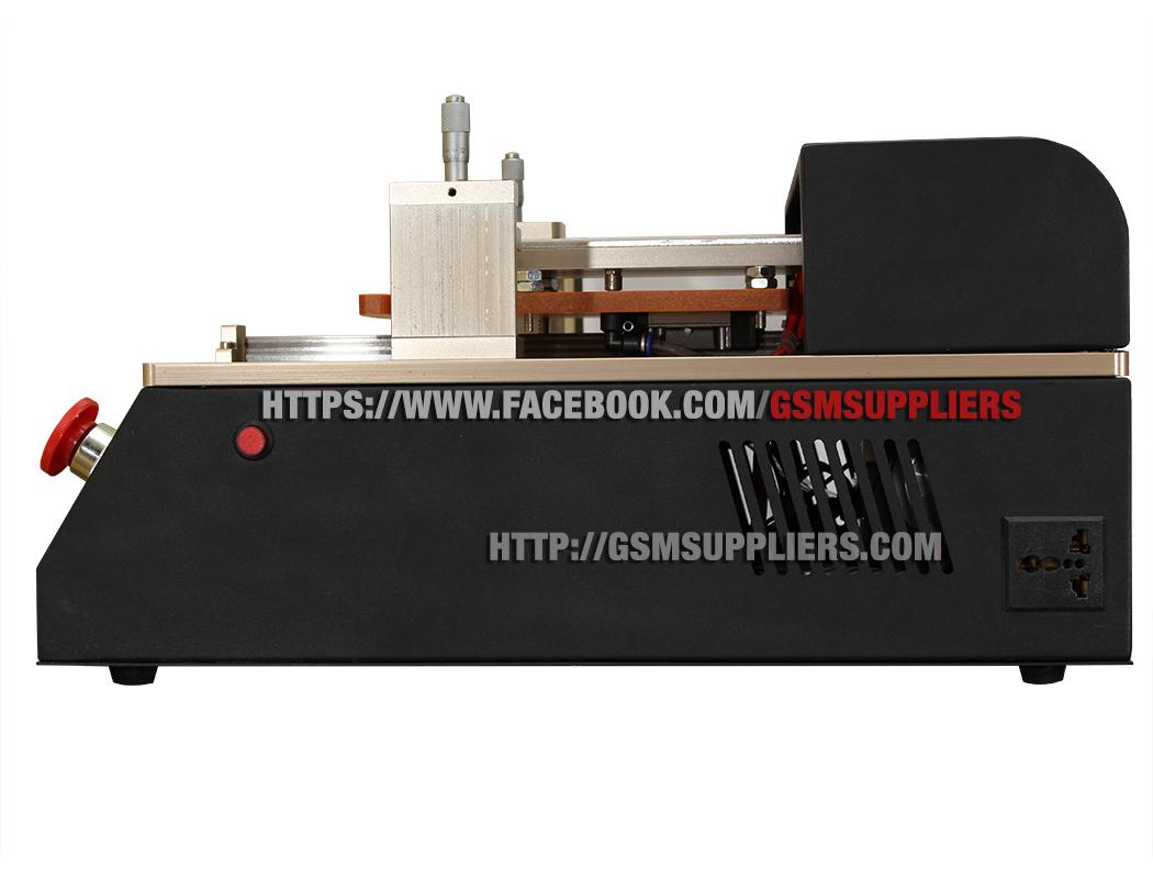 Máy cắt keo OCA tự động tách kính tiêu chuẩn Quốc Tế