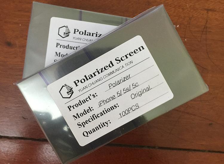 Film phân cực hiển thị màn hình iphone 5 5c 5s bản gốc chính hãng