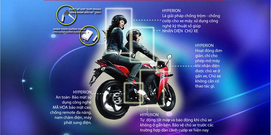 Thiết bị chống trộm xe máy