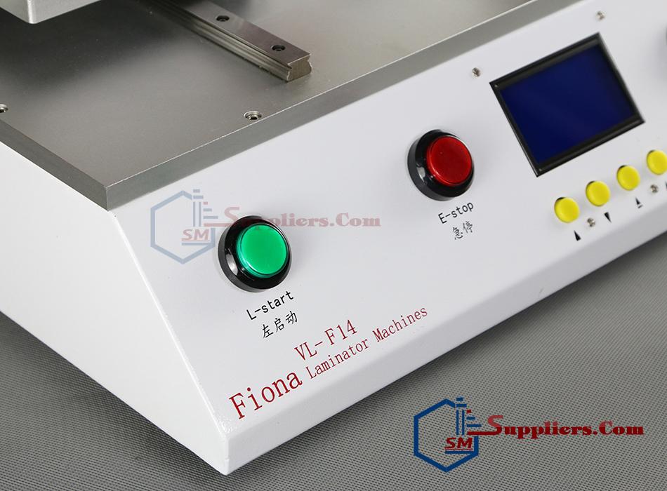 Tổng quát bộ máy ép kính fiona laminator machines tự động 14inch.