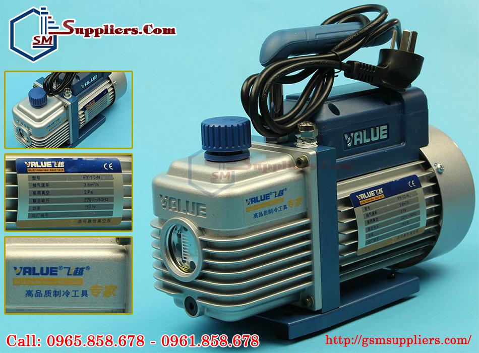 may hut chan khong value chinh hang cong xuat 150w. 3,6m3 gio