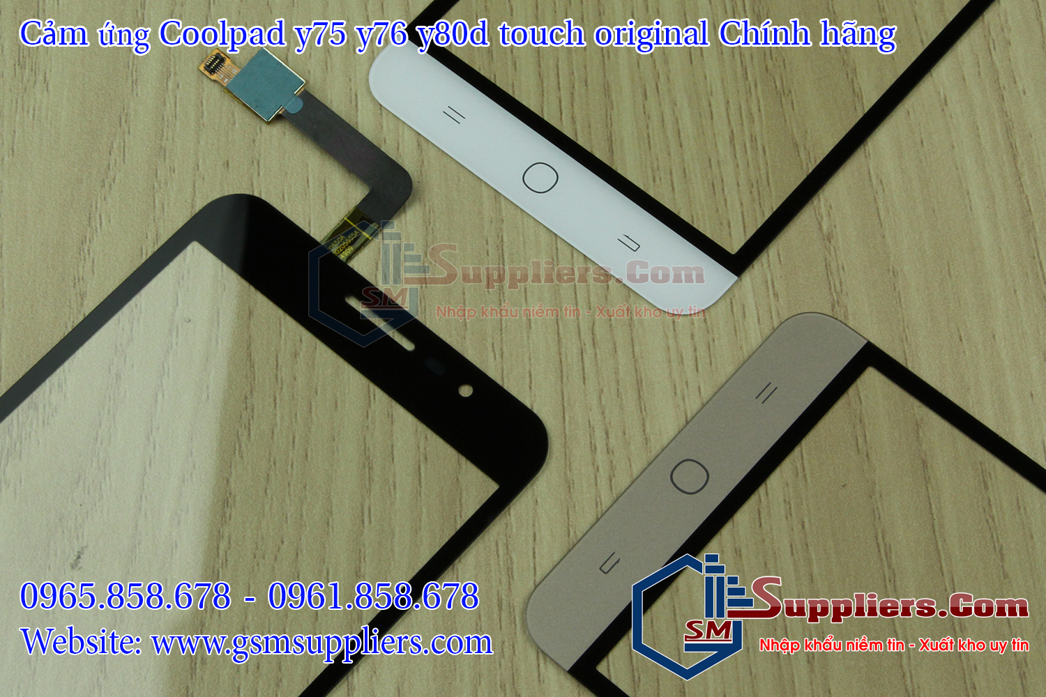 cam ung coolpad y75 y76 y80d touch original chinh hang 0